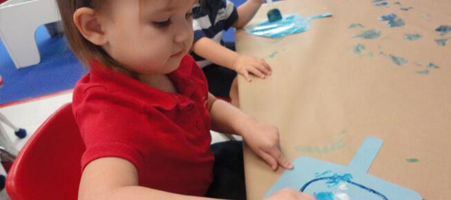 preschool learning center activities