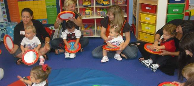 preschool learning center activities